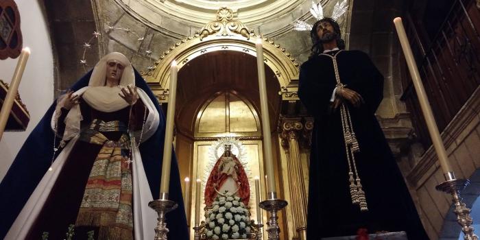APERTURA DE LA CAPILLA LOS VIERNES.