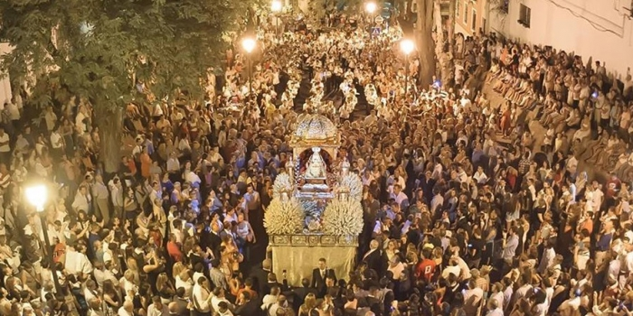 Invitación a la Solemne Pontifical Conmemorativa L aniversario Coronación Canónica Ntra Sra de la Caridad