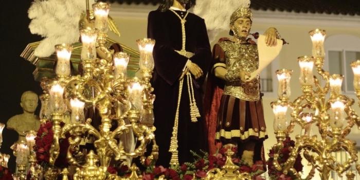 Igualá, cuadrilla de costaleros del paso de Ntro. Padre Jesús de la Sentencia.