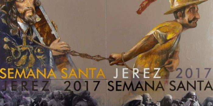 Cartel anunciador de la próxima Semana Santa 2017.