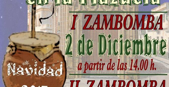 GRAN ZAMBOMBA EN LA PLAZUELA