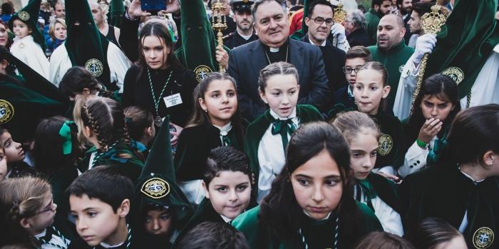 Misa de despedida de Monseñor D. José Mazuelos Pérez a la Hermandad de la Yedra