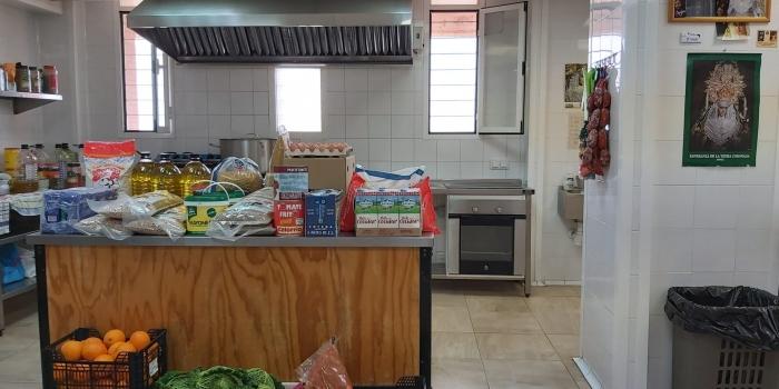 #Yodonouneuro compra alimentos para la Cocina Autogestionada Esperanza de la Yedra